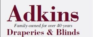 Adkins draperies and blinds logo