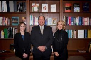 Dr. Amanda Slonaker, Dr. Scott Robison, Lynn Kissel