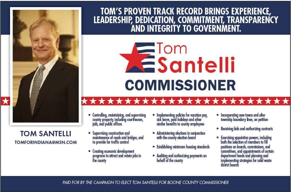 Elect Tom Santelli for Boone County Commissioner