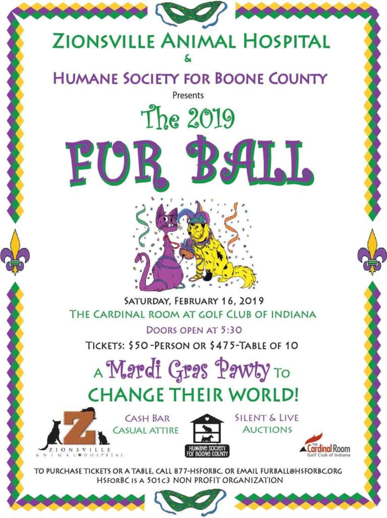 All Fur the Love of Boone County's Critters