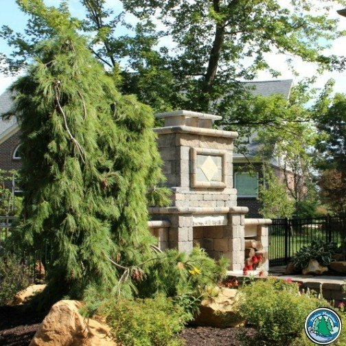 Eagleson Landscaping Fireplace