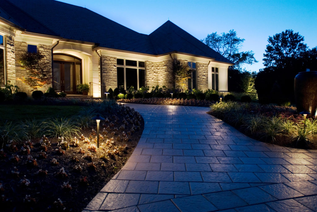 Outdoor lighting in Zionsville IN