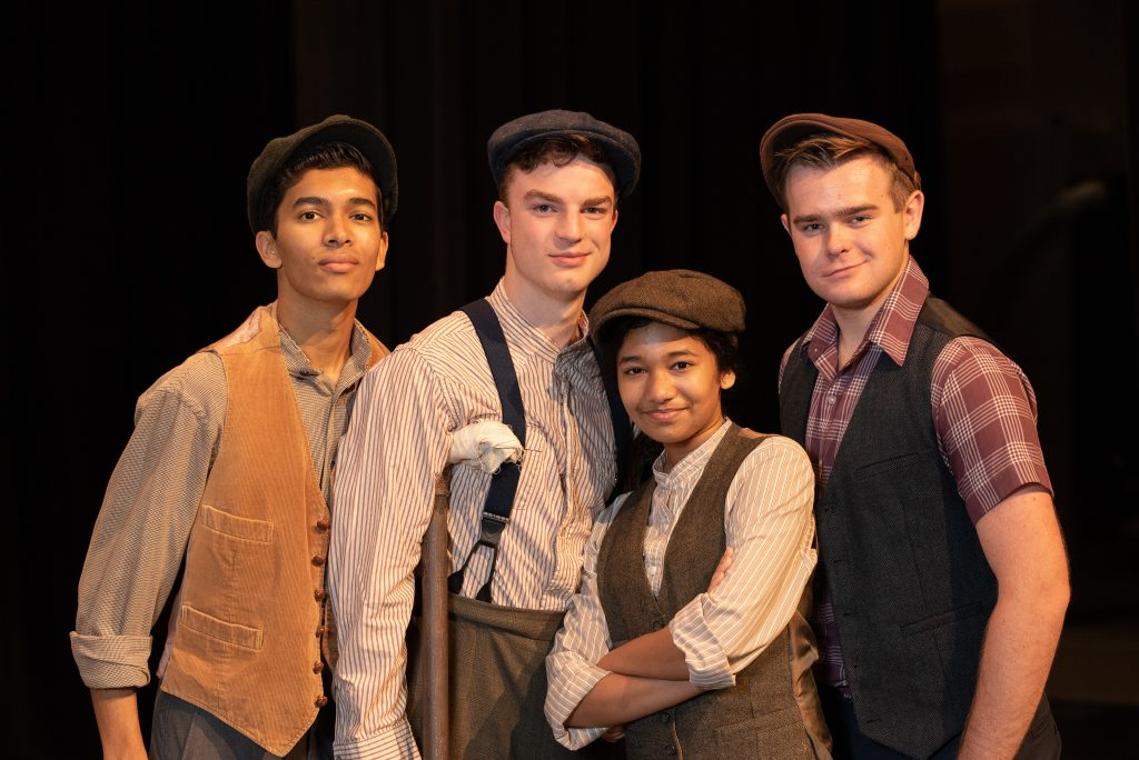 "Zionsville Community High School Presents: ""Newsies!"""