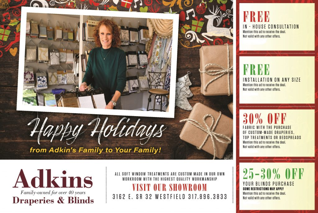 Adkins Drapery coupons