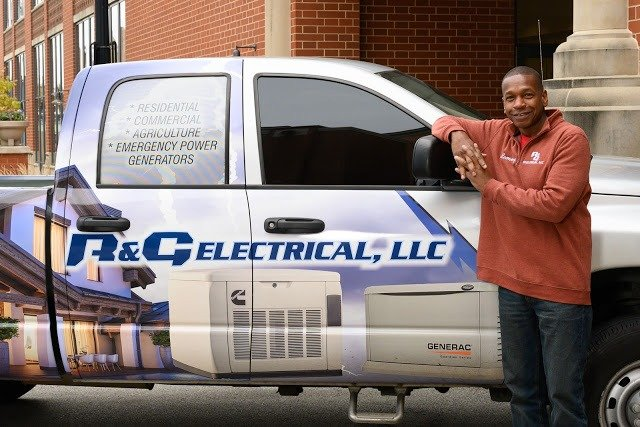 """Don't Get Caught with Your Power Down"". R & G Electrical provides emergency standby generators and electrical services for residential and commercial properties."