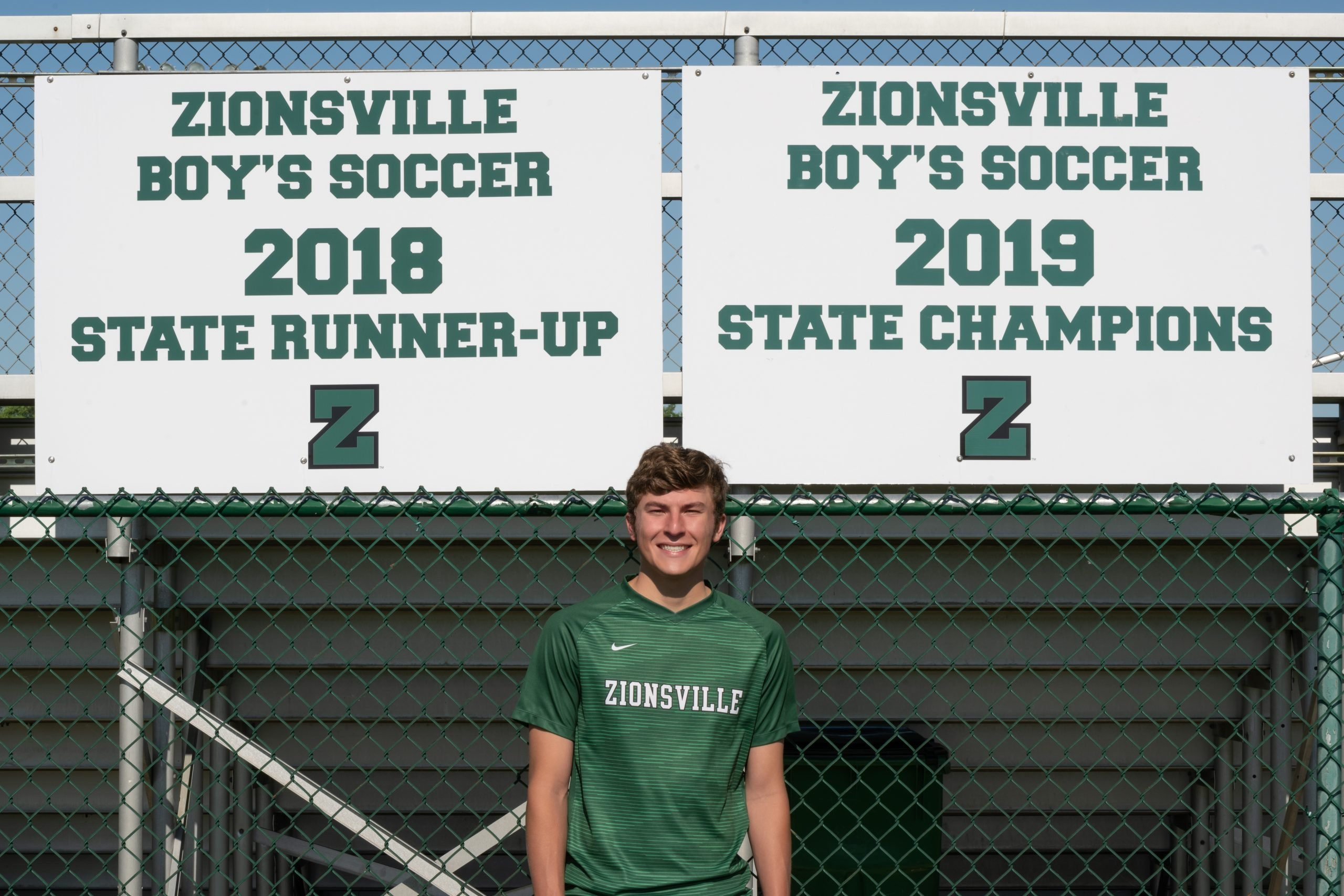 Zionsville's Chris Freeman