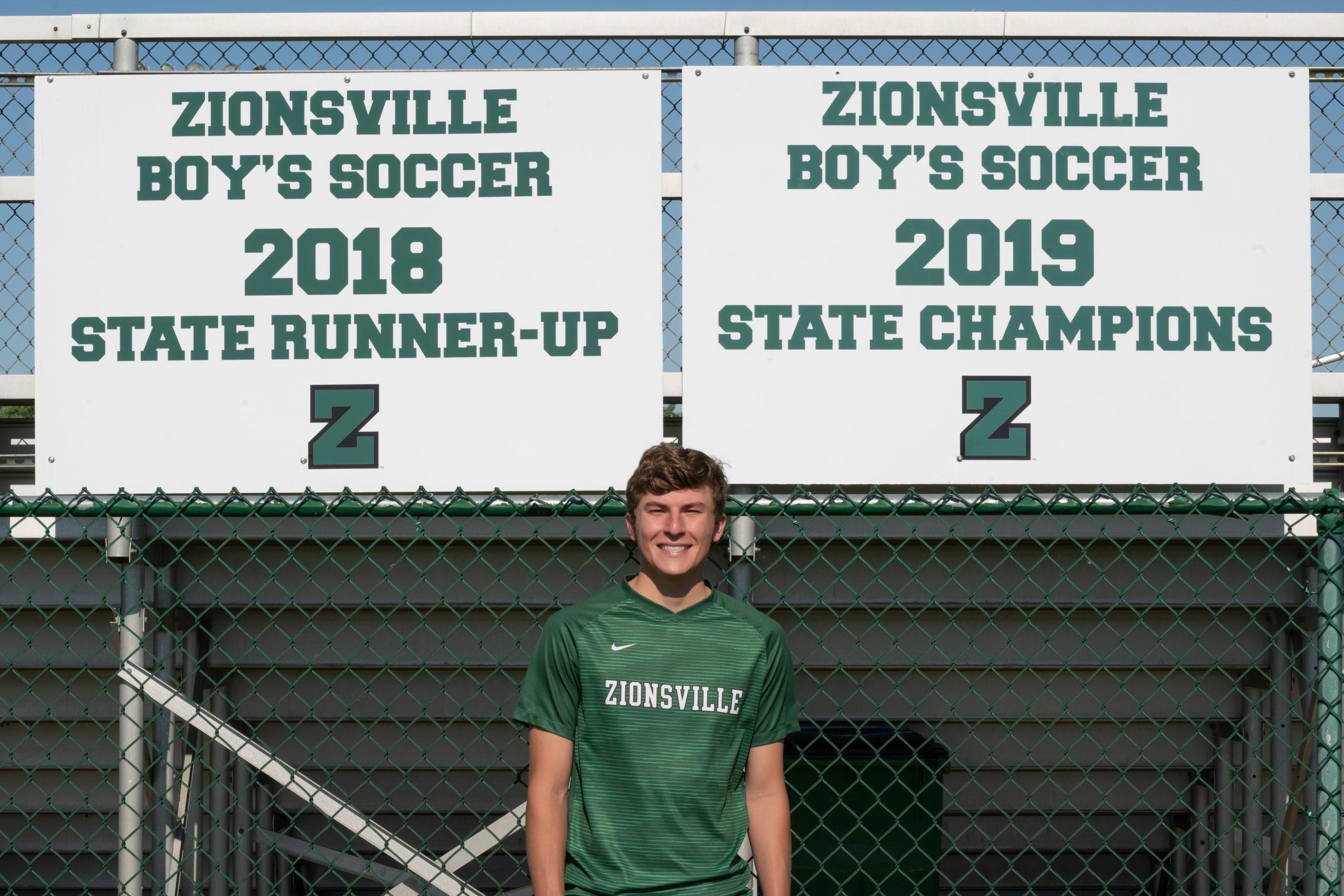 Zionsville's Chris Freeman