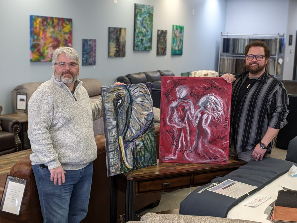 Village Mattress Pairs With Local Artist Rob Schaefer to Support Local