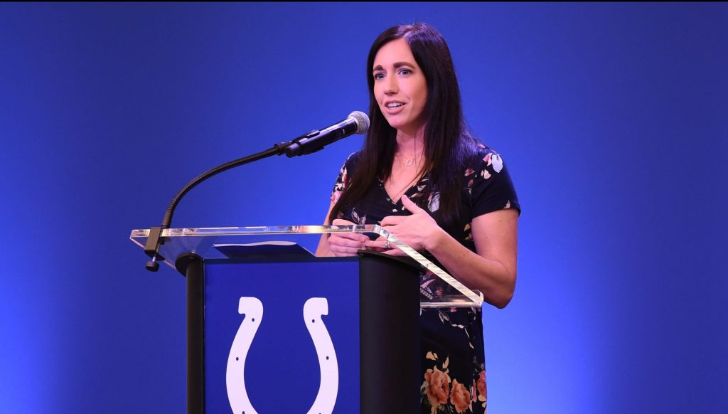 Colts Vice Chair & Owner Kalen Jackson: Leading the Irsay Family's Kicking The Stigma Campaign