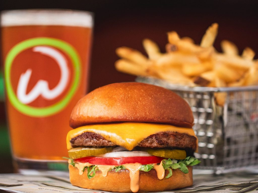 """Come to Wahlburgers Carmel and """"GO WAHL OUT"""""""